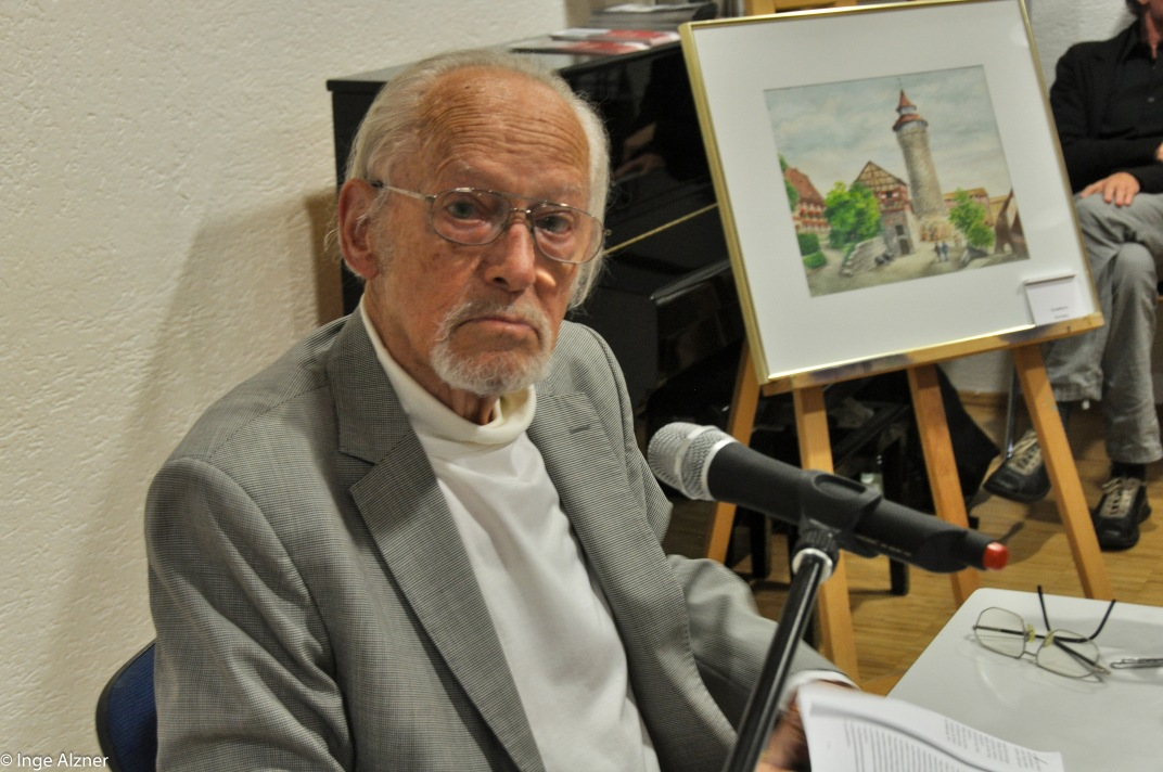 Dr Rost N Rnberg lesung mit hans bergel im haus der heimat nürnberg nürnberger kulturbeirat zugewanderter deutscher
